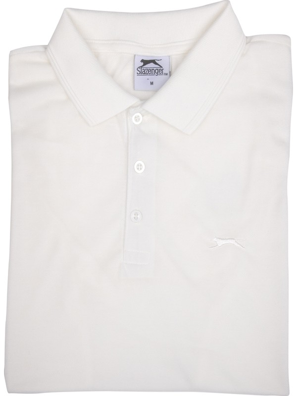 Slazenger Salvator Erkek Spor T-Shirt Beyaz