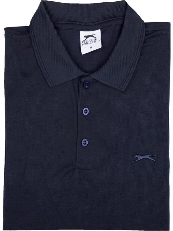 Slazenger Salvator Erkek Spor T-Shirt Lacivert