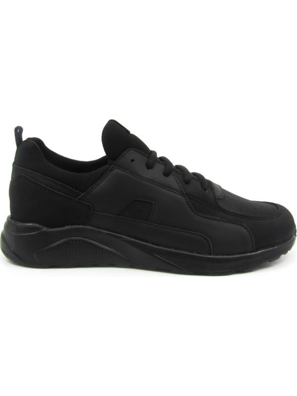 Pabuç Fabrikası Siyah Erkek Sneaker