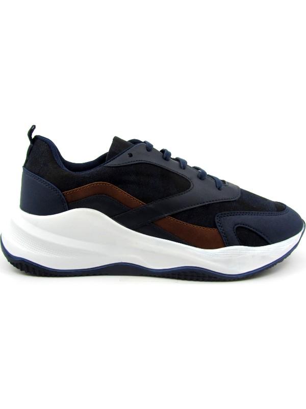 Pabuç Fabrikası Lacivert Erkek Sneaker