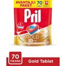 Pril Gold Bulaşık Makinesi Deterjanı 70 Tablet