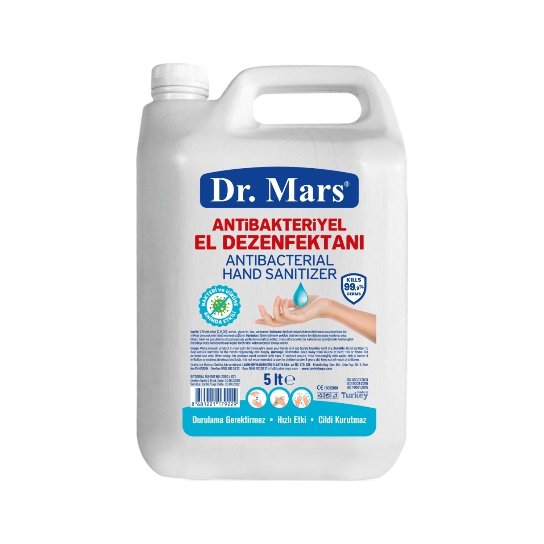 dr mars antibakteriyel el dezenfektani