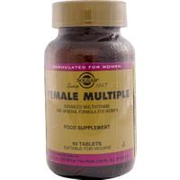 Solgar Female Multiple 60 Tablet