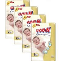 Goon Premium Bebek Bezi 2 Beden 58'li 4 Paket