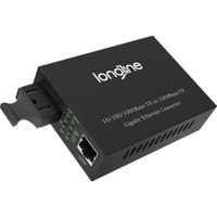 Longline 10/100/1000BASE-TX To 1000BASE-FX Media Converter 10KM  LNG-8110GSB-11-10A-AS