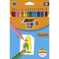 Bic Kids Tropicolors Kuru Boya Kalemi 18 Renk