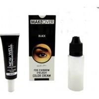 Makeover Black Kaş Kirpik Boyası Siyah