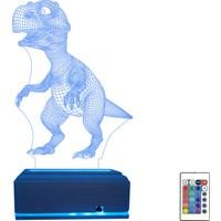 Algelsin Gece Lambası Dinozor Masa Lambası