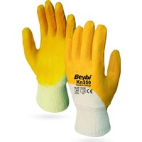 Beybi KN350 Sarı Nitril Eldiven No: 10 XL 5'li