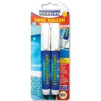 Vodaseal 2'Li Derz Kalemi Beyaz 2 Adet Yedek Uç