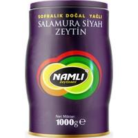 Namlı Zeytinleri Orta Boy Gemlik Siyah Zeytin - 1 kg