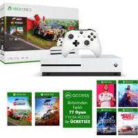 Microsoft XBox One S 1TB UHD 4K Oyun Konsolu + 2 Oyun + 1 Kol + 1 Yıl EA Access