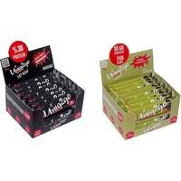 UNIQ2GO Power Almond Bar 16'lı Kutu + Choco Dark 16'lı Kutu