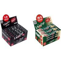 UNIQ2GO Peanut XXL - Fıstık Ezmeli XXL Proteinli Bar 12'li Kutu +Power Almond Bar 16'lı Kutu - 28 Adet Bar