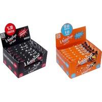 UNIQ2GO Power Almond Bar 16'lı Kutu + Choco Light 16'lı Kutu