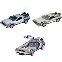 Welly Geleceğe Dönüş Ful Set 1-2-3 Metal Model Araba Back To The Future