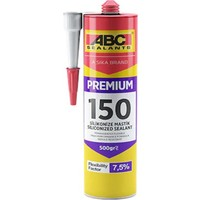 Abc Premium 150 Silikonize Mastik Beyaz ABC9104