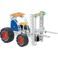 Aelo Toys Vidalı Metal Yapı Oyuncağı Forklift No 3119