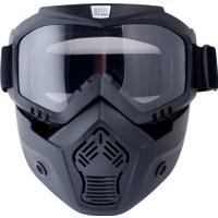 Cgm Motorsiklet Maske Koruyucu Siyah