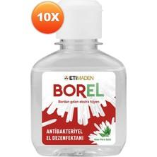 Eti Maden Borel Aloe Vera Özlü El Dezenfektanı 10'lu 100 ml
