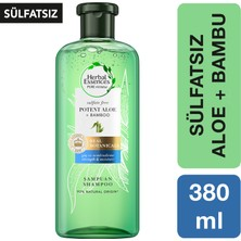 Herbal Essences Sülfatsız Güç ve Nem Aloe + Bambu Şampuan 380 ml