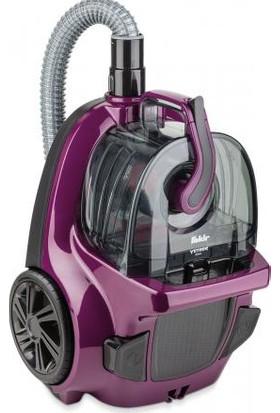 Fakir Veyron Öko Violet Toz Torbasız Süpürge Mor