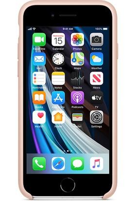 Apple iPhone SE 2.Nesil Silkon Kılıf MXYH2ZM/A - Pembe