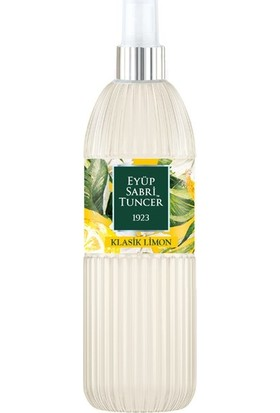 Eyüp Sabri Tuncer Klasik Limon Kolonyası 150 Ml Silindir Pet Şişe Sprey
