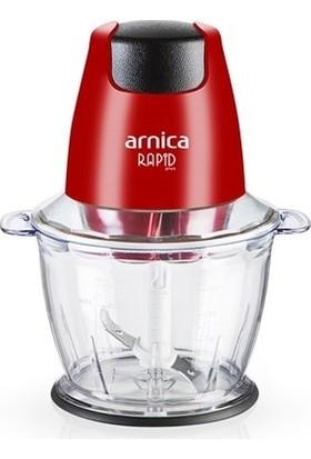 Arnica Rapid Plus 500 W Mini Doğrayıcı Kırmızı GH21132