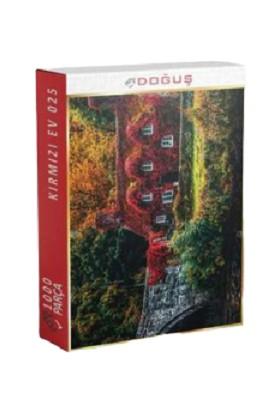 Doğuş 1000 Parça Puzzle Kırmızı Ev 025