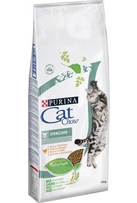 Purina Cat Chow Sterilised Kısırlaştırılmış Tavuklu Yetişkin Kedi Maması 15 Kg