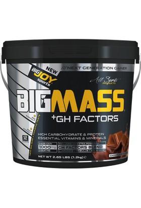 Bigjoy Sports Bigmass Mass Gainer Gh factors Karbonhidrat Protein Çikolata 1200g