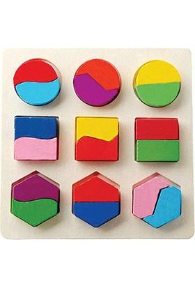 Akay Geometrik Şekiller Tam - Yarım Anlatımlı