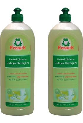 Frosch Bulaşık Limonlu Balsam Elde Yıkama Bulaşık Deterjanı 750 ml - 2'li