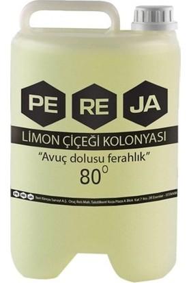 Pereja 5 Litre 80 Derece Limon Kolonyası