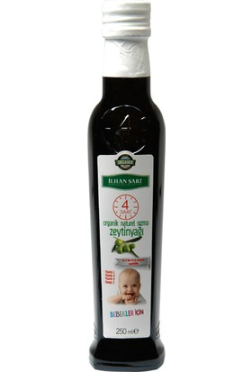 İlhan Sarı Bebekler İçin Organik Natural Sızma Zeytinyağı 250 ml
