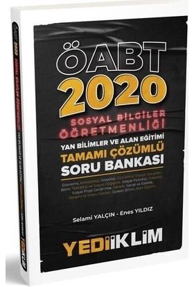 Yediiklim Yayınları 2020 KPSS ÖABT Sosyal Bilgiler Öğretmenliği Yan Bilimler Ve Alan Eğitimi Soru Bankası - Selami Yalçın