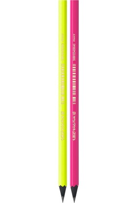 Bic Evolution Fluo Kurşun Kalem 4'Lü Blister