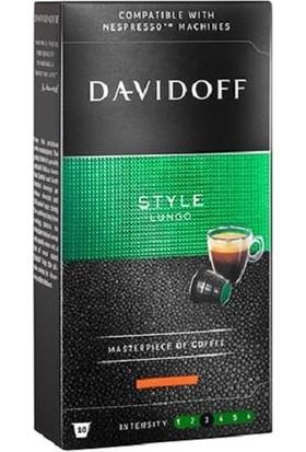 Davidoff Style Lungo 10'lu Kapsül Kahve