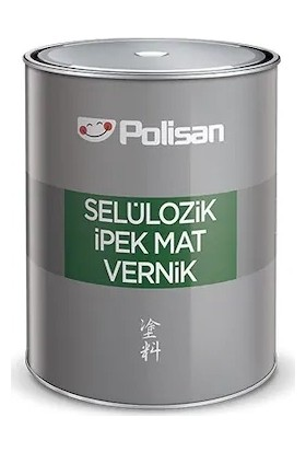 Polisan Selülozik Ipek Mat Vernik 3 kg