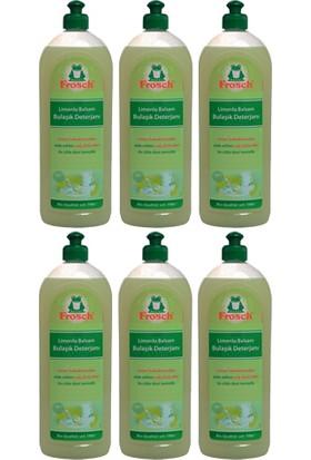 Frosch Limonlu Balsam Elde Yıkama Bulaşık Deterjanı 750 ml 6 Adet