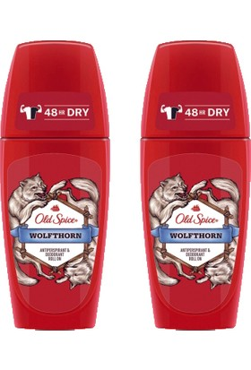 Old Spice Roll On Deodorant 50 ml Wolfthorn 2 Adet
