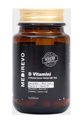 Medirevo Resveratrol, Borik Asit, Kenevir Tohumu Yağ'lı D Vitamini
