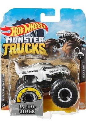 Hotwheels FYJ44 Monster Trucks 1:64 Araba Mega Wrex GJF16