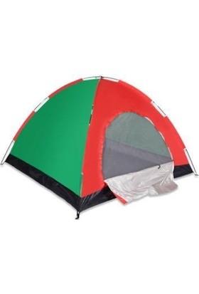 Mofy 10 Kişilik Renkli Kamp Çadırı Kolay Kurulum 300 x 300 x 170