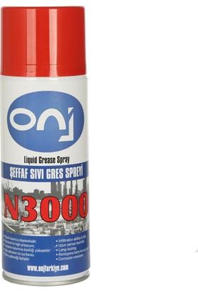 Onj N3000 Şeffaf Sıvı Gres Spreyi 400 ml