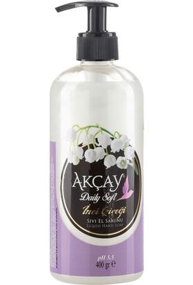 Akçay Daily Soft Sıvı El Sabunu İnci Çiçeği 400 gr
