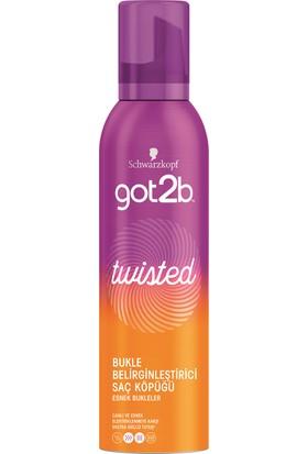 got2b Twisted Bukle Belirginleştirici Köpük 250 ml