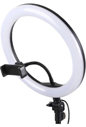 Zore M2603 Ring Light Youtuber Işıklı Telefon Tutucu