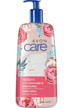 Avon Care Gül Suyu ve Shea Yağı Vücut Losyonu 750 ml